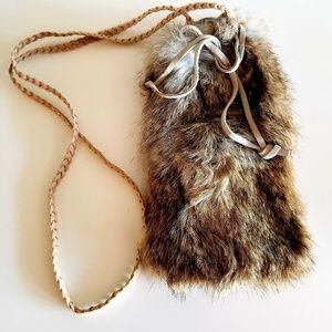 Real Fur pouch